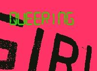 Schriftzug Queering Girl auf pinker Wand